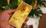 """iPhone 7 mạ vàng gắn """"long đao"""" tại Việt Nam"""