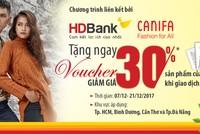 Nhận voucher thời trang khi đến giao dịch tại HDBank