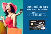 Eximbank ra mắt thẻ tín dụng quốc tế Eximbank - Visa Platinum Cash Back