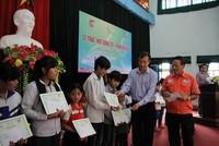 """Masan Nutri-Science trao """"học bổng STF - Phạm Phú Thứ"""" tại Thái Nguyên và Nghệ An"""