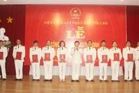 Trao quyết định bổ nhiệm 12 Kiểm sát viên cao cấp