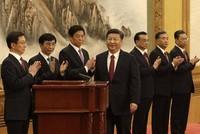 7 lãnh đạo cao nhất Trung Quốc ra mắt