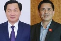 Hai ứng viên vị trí Bộ trưởng Giao thông và Tổng thanh tra Chính phủ