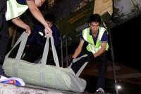 Phi cơ Nga chở 5 triệu USD hàng hóa cứu trợ đến sân bay Cam Ranh
