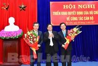Bạc Liêu, Hà Giang có tân Bí thư, Phó Bí thư Tỉnh ủy