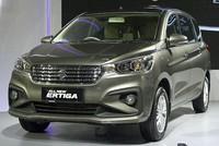Suzuki Ertiga thế hệ mới thay đổi thiết kế