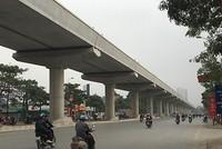 Đường sắt Nhổn - ga Hà Nội lùi tiến độ đến cuối năm 2022