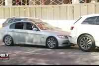 Tài xế BMW điên cuồng ủn xe SUV qua ngã tư