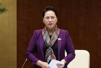 Chủ tịch Quốc hội: Người dân bình tĩnh, tin vào quyết định của Đảng, Nhà nước