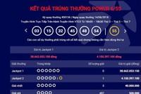Thêm một tấm vé số trúng giải Jackpot 2 trị giá hơn 4 tỷ đồng
