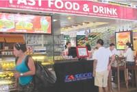 Đề xuất dỡ trần cho giá đồ ăn nhập khẩu bán ở sân bay