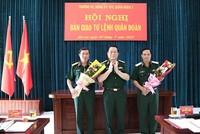Bộ Quốc phòng bổ nhiệm Cục trưởng Cục quân huấn; Tư lệnh Quân đoàn 3