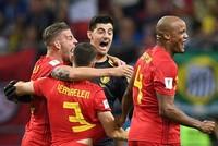 Brazil 1-2 Bỉ: Bỉ thắng nhờ chiến thuật táo bạo của Roberto Martinez