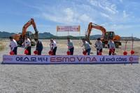 Tập đoàn ESMO, Hàn Quốc khởi công nhà máy sản xuất dây cáp điện ô tô đầu tiên tại Việt Nam