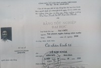 Xác minh Trưởng ban Tổ chức Huyện ủy Chư Sê – Gia Lai dùng bằng đại học không hợp lệ