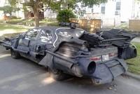 Xe Người Dơi hầm hố biến hình từ Toyota Camry