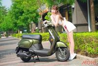 Kymco New Many 110 noodoe - xe ga lạ ở Đài Loan