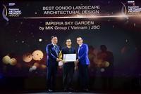 Tập đoàn MIKGroup bội thu giải thưởng quốc tế