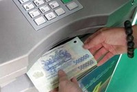 Hạn mức rút tiền mặt tối thiểu tại ATM