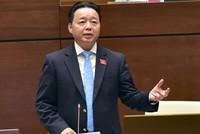 Đại biểu Quốc hội truy trách nhiệm Bộ trưởng Trần Hồng Hà