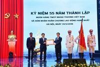 Thống đốc giao 2 nhiệm vụ cho Vietcombank nhân kỷ niệm 55 năm thành lập