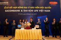 Dai-ichi Life Việt Nam và Sacombank hợp tác độc quyền 20 năm