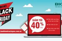 BIC Black Friday: Giảm đến 40% phí nhiều sản phẩm bảo hiểm