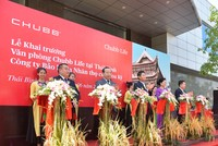 Chubb Life Việt Nam khai trương văn phòng kinh doanh mới tại Thái Bình và Thái Nguyên