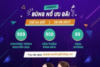 Sắp diễn ra Online Friday - Ngày Mua sắm trực tuyến 2017