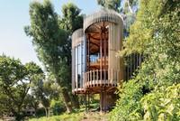 Kiến trúc lạ: Ngôi nhà thân cây, hoàn thiện giấc mơ tuổi thơ