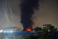 Hai giờ đối mặt 'giặc lửa' tại Công ty Dệt may Thành Công ở Sài Gòn