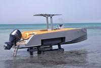 """Iguana 29: Chiếc canô sang trọng """"lưỡng cư"""""""