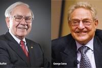Warren Buffett - George Soros: Hai nhà đầu tư đại tài, hai chiến lược đối lập