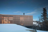 Cabin Kvitfjell: Tổ ấm giữa băng giá