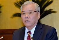 Sẽ trình Quốc hội nhân sự mới thay thế ông Phan Văn Sáu vừa có đơn gửi Bộ Chính trị xin thôi nhiệm