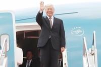 Tổng Bí thư Nguyễn Phú Trọng kết thúc tốt đẹp chuyến thăm Pháp và Cuba