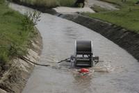 Chiếc bánh xe có thể bơm nước mà không cần dùng tới điện