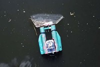 Robot thu gom rác thải trên sông từ bất cứ nơi nào trên thế giới qua trình duyệt web