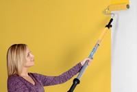Gậy sơn tường thông minh, không cần nhứng sơn liên tục để quét