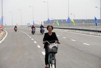 """Thông xe cầu vượt """"khủng"""" nhất Hà Nội"""