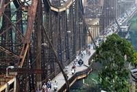Đảm bảo tiến độ hoàn thành sửa chữa cầu Long Biên trong năm 2015