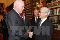 Các nghị sĩ Hoa Kỳ mong muốn đẩy mạnh hợp tác thương mại và an ninh với Việt Nam