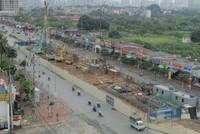 Gói thầu số 2 tuyến metro Nhổn - ga Hà Nội đã hoàn thành 18%