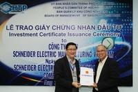 Schneider Electric đầu tư nhà máy 45 triệu USD tại Khu công nghệ cao Sài Gòn