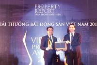 """Novaland nhận giải """"Nhà phát triển bất động sản tốt nhất"""""""