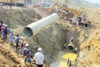 Hà Nội yêu cầu Vinaconex báo cáo tiến độ tuyến ống nước Sông Đà số 2