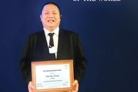 """Hoa Sen được vinh danh """"Doanh nghiệp tăng trưởng toàn cầu"""""""