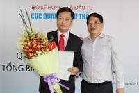 Trao quyết định bổ nhiệm Tổng Biên tập Báo Đấu thầu