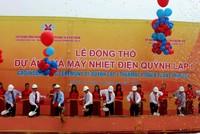 Nghệ An: Khởi công Nhà máy Nhiệt điện Quỳnh Lập 1 vốn 2,2 tỷ USD