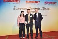 """Vietcombank nhận giải thưởng """"Ngân hàng quản lý tiền mặt tốt nhất Việt Nam 2015"""""""